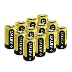 CR2 Battery 3V Lithium 800mAh 12 Pack with PTC Protection fo