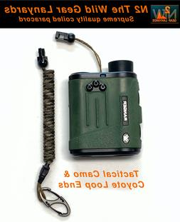 Hunting Lanyard Tactical Camo & Coyote Rangefinder GPS Coile