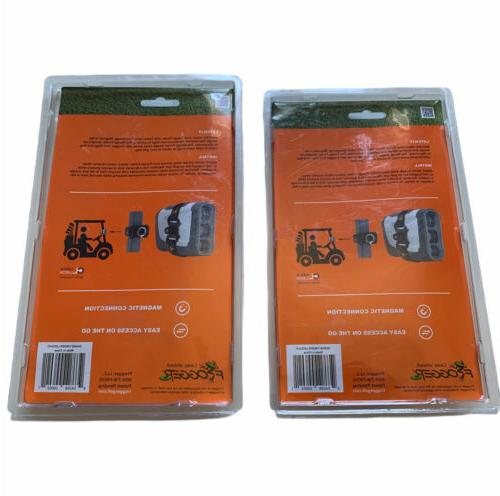 2 New Catch Latch It Magnetic Strap Cart