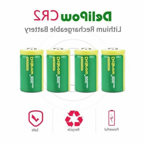 4-Pack Rechargeable Lithium For Golf
