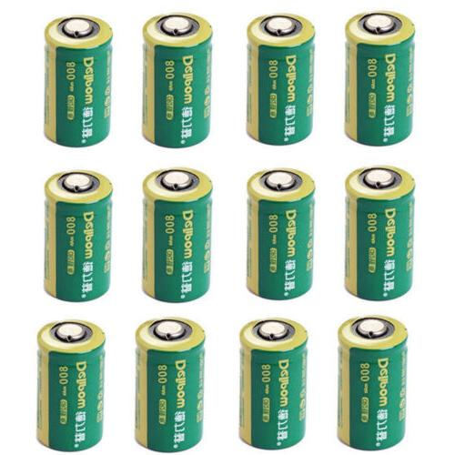 800mah 3v cr2 lithium rechargeable batteries