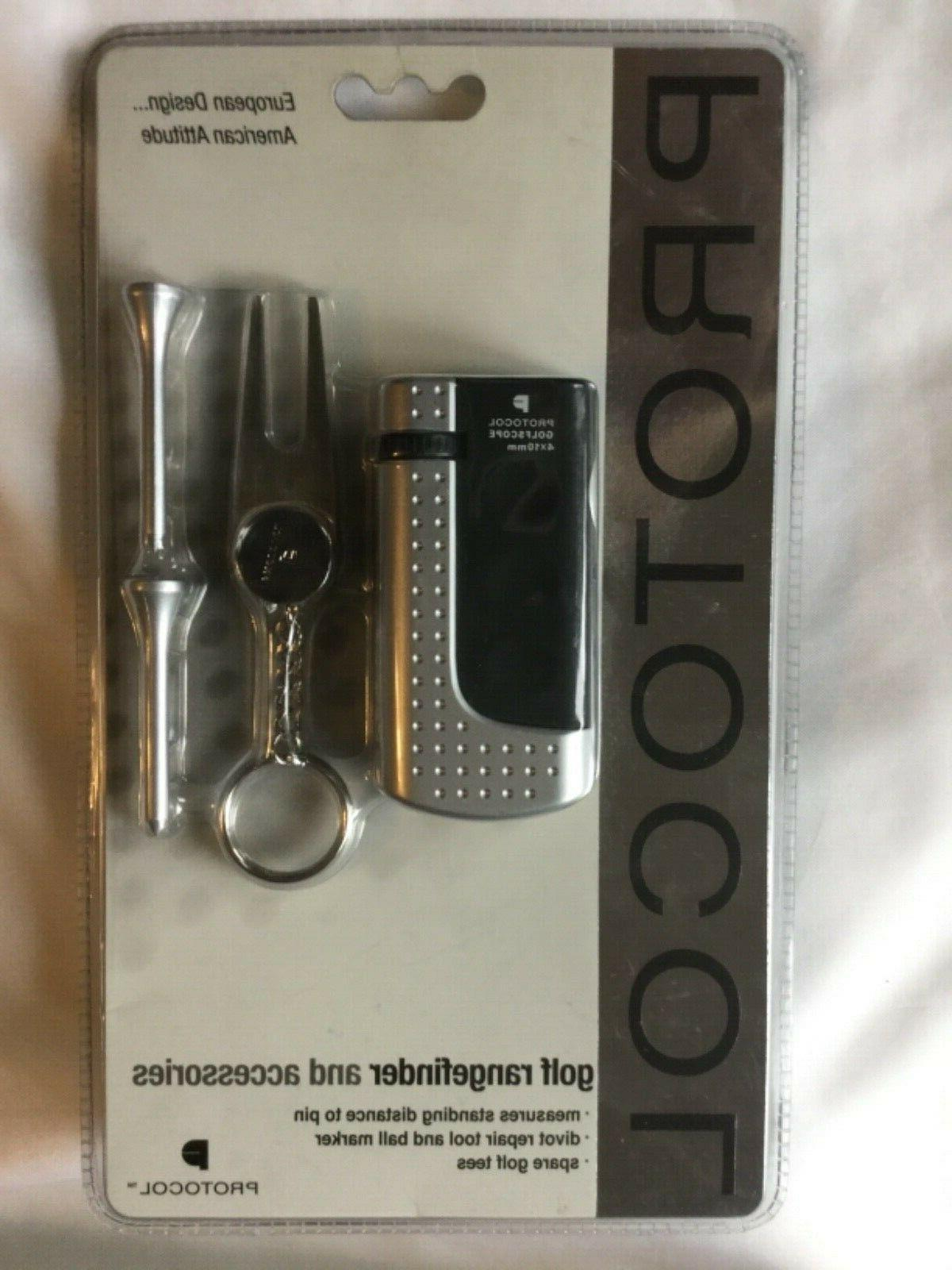 protocol golf rangefinder and accessories new in
