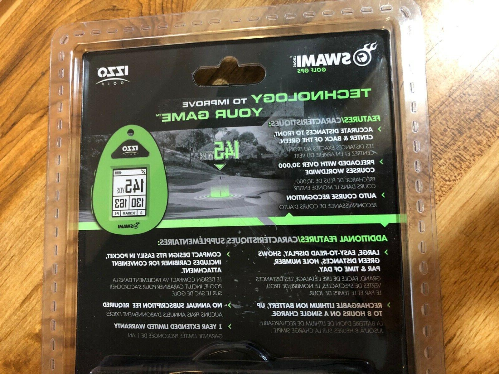 IZZO Golf Swami Sport GPS With Over