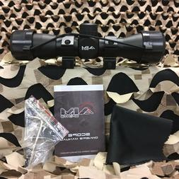 New Aim Sports Tactical 4X32mm Compact Scope w/ Range Finder