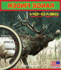 range finder game hunting bow crossbow accessories